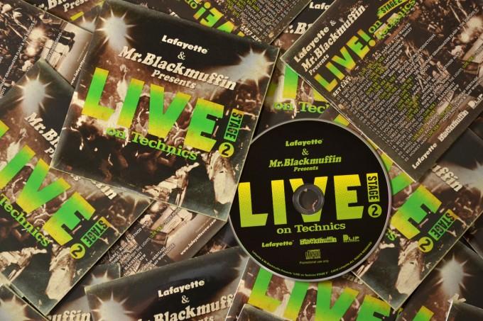 Lafayette & Mr. Blackmuffin Presents 『LIVE! on Technics』-STAGE 2-
