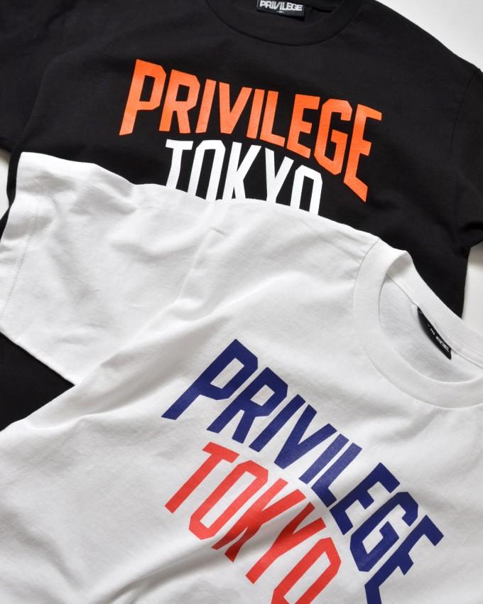 PRIVILEGE – TOKYO COLLEGE LOGO TEE Delivery