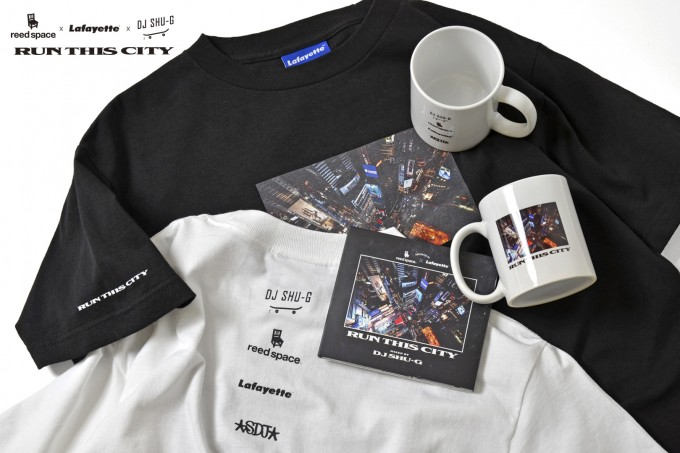reed space x Lafayette x DJ SHU-G – RUN THIS CITY COLLECTION