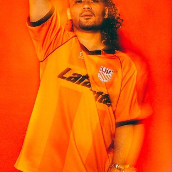 "・ CHICO CARLITO() ・ 本日発売のLafayette S/S FOOT BALL JERSEY着用。 ・ ・ Photo  ・ Stylist Rari Shinbo from PRIVILEGE   ・ Yusuke ""Evan"" Hayashi from Lafayette   ・ ・"